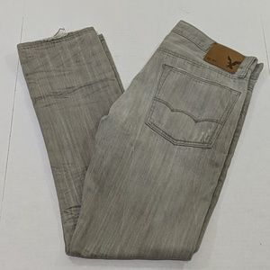 American Eagle Outfitters Gray Slim Fit Jeans